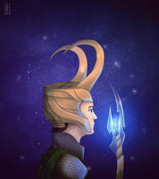Loki by KARUN09