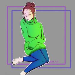 Resting.. by KokuraiOtaku96