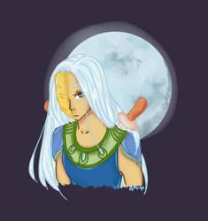 Haliya, Masked Goddess of the Moon (Bicol Mythos) by KokuraiOtaku96
