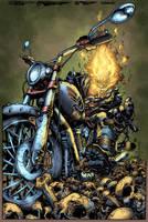 Ghost Rider my way by Javilaparra