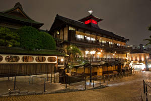 Prince Shotoku's Onsen by Quit007