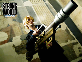 Sanji III - STRONG WORLD by drwarumono
