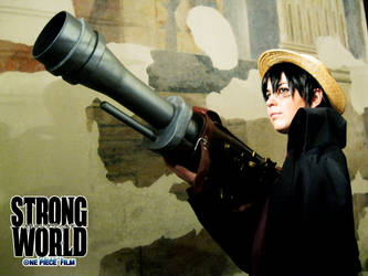 Luffy II - STRONG WORLD by drwarumono