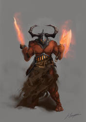 Ashen Obliterator by Huussii