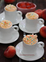 Summer Peach Mousse by theresahelmer