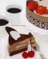 Tiramisu Birthday Cake by theresahelmer