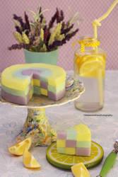 Spring Lemon Jello by theresahelmer