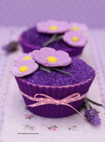 Romancing Lavender (Pretty Cupcakes) by theresahelmer