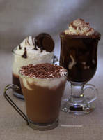 Coffee Drink Trio by theresahelmer