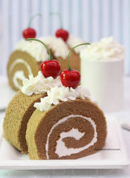 Mocha Cake Roll by theresahelmer