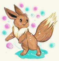 Pokemon_eevee-chan by Miyuki-Tsukiyono