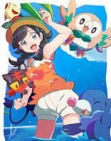 Pokemon_USUM by Miyuki-Tsukiyono