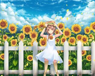 SunFlower by mizonaki