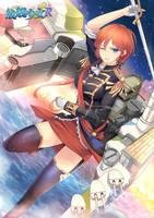Warship Girls R - HMS Nelson (28) by mizonaki