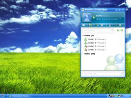 Windows Live Messenger Default by Chasethebase