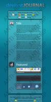 Journal Design 2 by Chasethebase