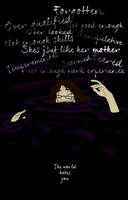 Drowning in a sea of doubt and insecurities by ZannyHyper