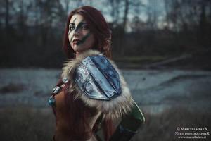 Aela the Huntress, second Shot by Aleeusha
