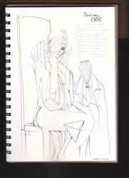Sketch book 18/9/2015 TARZA and CAGE by worapol