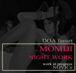 DOA fanart MOMIJI (WIP) by worapol