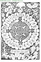 Skull and Runes by myc4ca