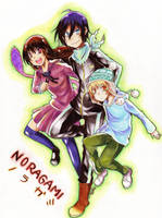 Noragami by Gurepyon