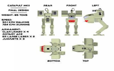 Catapult  MKII Final Design by MechWarriorsClub