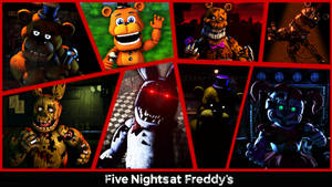 FNaF's 4th Anniversary by TF541Productions