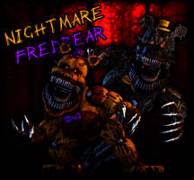Model Showcase: Nightmare Fredbear and Nightmare by TF541Productions