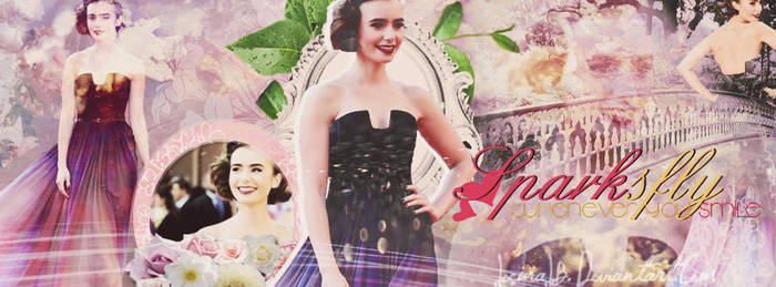 Lily Collins by JosmaJB
