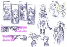 FE - More sketch by Mitsuyuki32