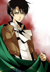 SNK: Rivaille by tofumi