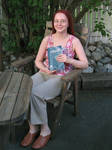 Me and the book by diamondie
