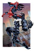 Spider-Man vs. Venom by Kminor