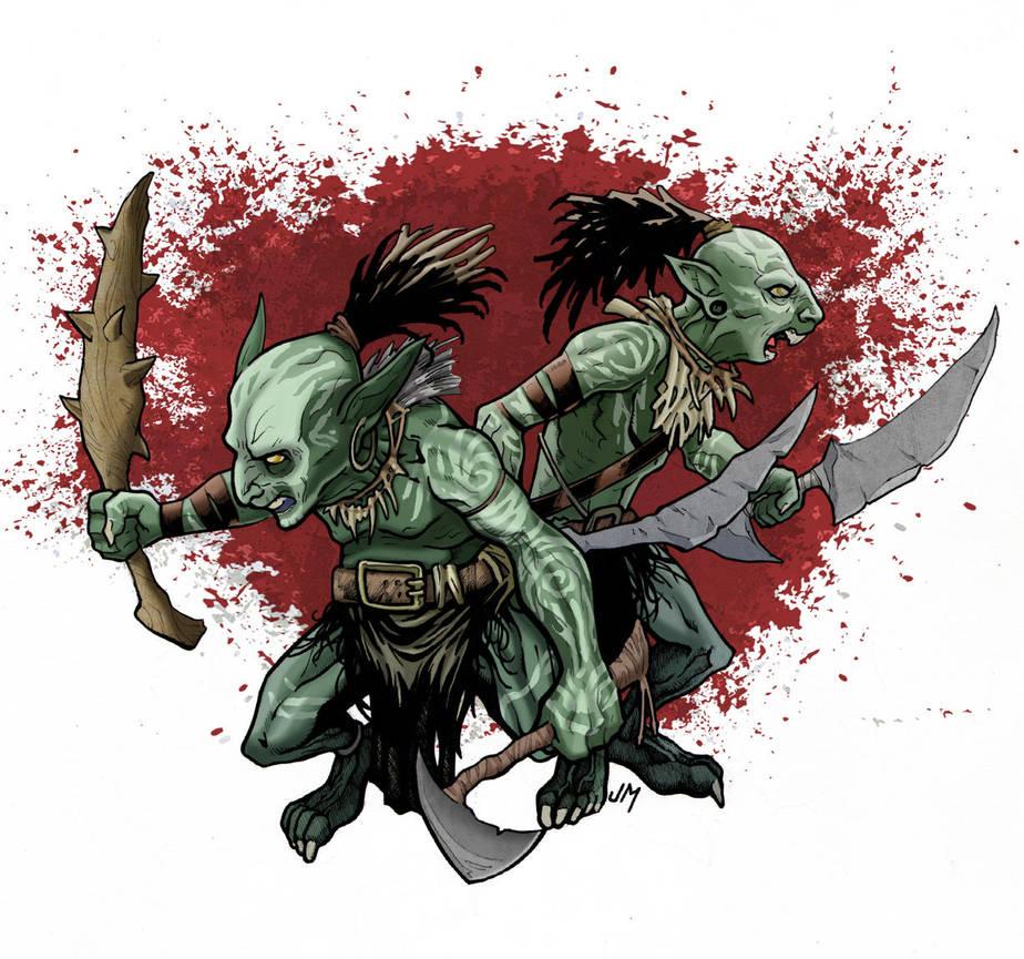 Nasty Goblins by Kminor