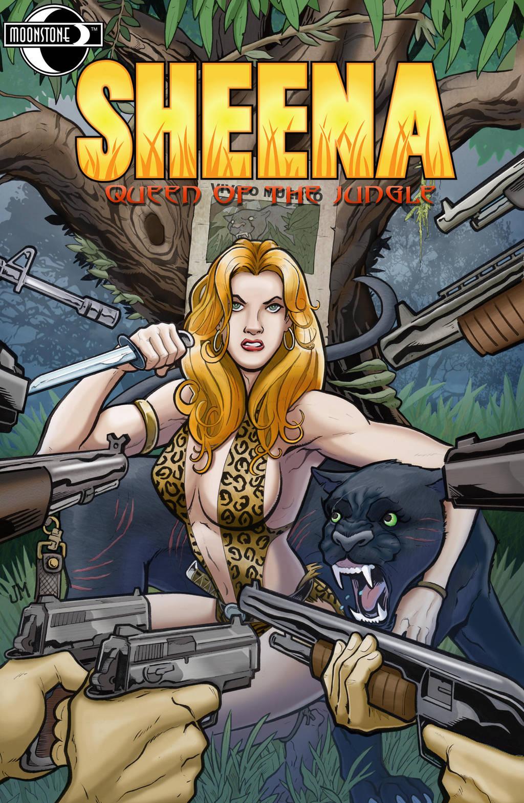 Sheena: Queen of the Jungle #2 by Kminor