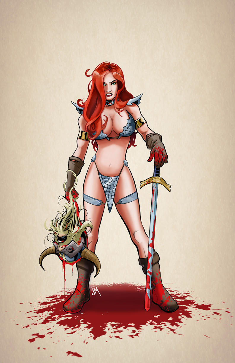 Red Sonja by Kminor