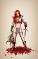 Red Sonja by Kminor