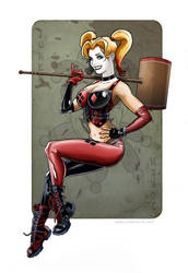 Harley Quinn by Kminor