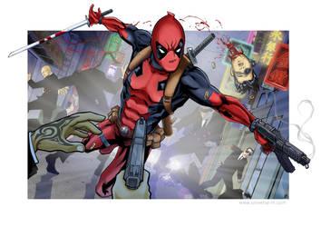 Deadpool by Kminor