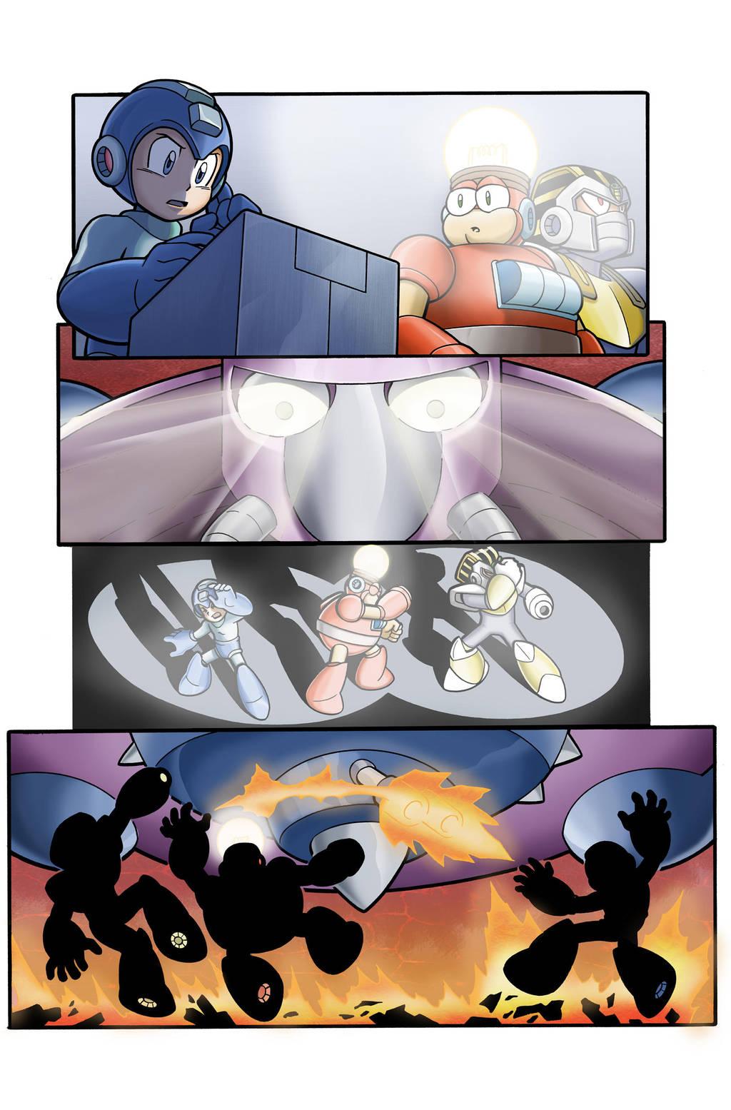 Mega Man Sample 2 by Kminor