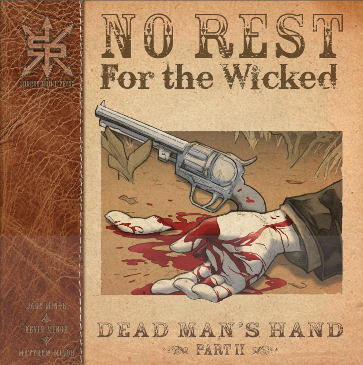 No Rest For the Wicked Cover 2 by Kminor