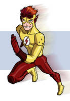 Kid Flash by UsmanHayat