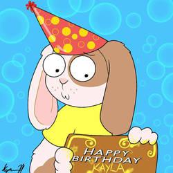 Happy Birthday to a friend from Rabbit Morty by X-KyaraSomikoCat-X