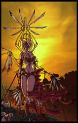 Fallen Angel by davethecat