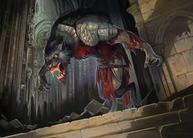 Werewolf by GuzBoroda