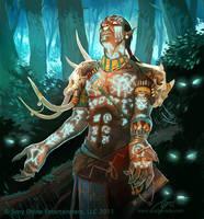 Dusk Druid by GuzBoroda