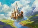 Castle GuzBoroda 001 by GuzBoroda