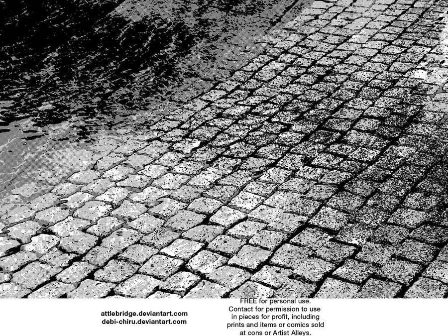 Screentone Ground by Attlebridge