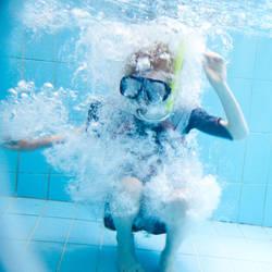 Boy in bubbles by wishez
